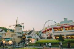 Everland Theme Park in Yongin, South Korea. royalty free stock photos