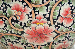 Colorful flowers tile Stock Photos