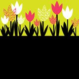 Colorful Flowers. Vector illustration Stock Image