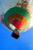 Colorful flying balloon Royalty Free Stock Photos