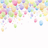 Colorful Flying Balloons Royalty Free Stock Images