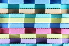 Colorful Foam Royalty Free Stock Photography