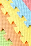 Colorful Foam Puzzle Royalty Free Stock Image