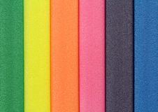 Colorful foam rubber Royalty Free Stock Photography