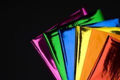 Colorful foil Stock Photos