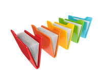 Colorful folders. Stock Photography