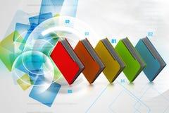 Colorful folders Stock Photos