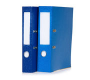 Colorful folders Stock Images
