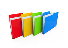 Colorful Folders Royalty Free Stock Photo