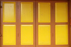 Colorful folding doors Royalty Free Stock Photography