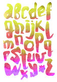Colorful font. Stock Image