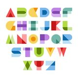 Colorful font Royalty Free Stock Photos