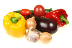 Colorful food Stock Photos