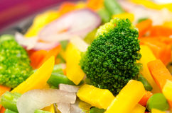 Colorful vegetables royalty free stock photography
