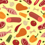 Colorful food background Stock Images