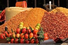 Colorful food - India Stock Photo