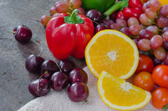 Colorful of food Royalty Free Stock Photography
