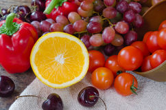 Colorful of food Royalty Free Stock Images