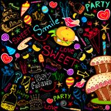 Colorful Food Party Stock Photos