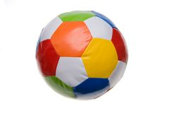 Colorful football Royalty Free Stock Photos