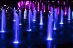 Colorful Fountain Royalty Free Stock Image