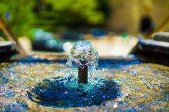 Free Colorful Fountain In Los Angeles Stock Image - 128387731