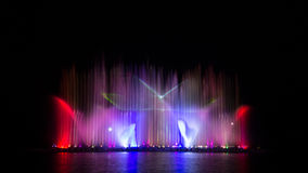 Colorful of fountain. Royalty Free Stock Photos