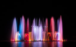 Colorful of fountain. Royalty Free Stock Image