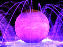 Colorful fountain Royalty Free Stock Photos