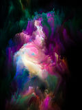 Colorful Fractal Brush Royalty Free Stock Photos