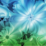 Colorful  fractal Floral Royalty Free Stock Images