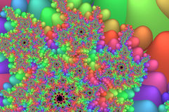 Colorful fractals Royalty Free Stock Photo