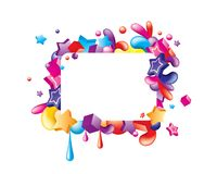 Colorful_frame Royalty Free Stock Photography