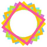 Colorful frame Royalty Free Stock Images