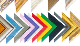 Colorful frame samples Stock Photography