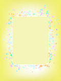 Colorful frame for your message. EPS 8. File included Royalty Free Stock Images