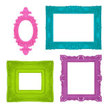 Colorful frames Stock Images