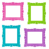 Colorful frames royalty free stock image