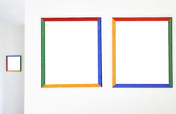 Colorful frames Royalty Free Stock Photography