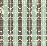 Colorful frayed geometric seamless pattern, vector. Colorful tattered geometric seamless pattern, vector decorative background Royalty Free Stock Image