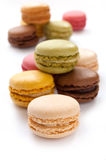 Colorful French Macarons Stock Photos
