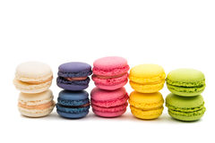 Colorful French Macarons Royalty Free Stock Image