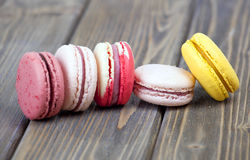 Colorful French Macaroon Stock Photo