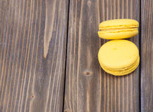 Colorful French Macaroon Stock Photos
