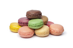 Colorful French Macaroons Royalty Free Stock Photo