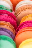 Colorful french macaroons Royalty Free Stock Photography