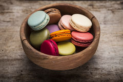 Colorful French Macaroons Royalty Free Stock Image