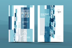 Colorful fresh business A4 cover template - flyer, brochure, book magazine and annual report Stock Photo