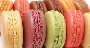 Colorful fresh cookies Stock Photography