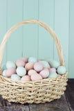 Colorful Fresh Farm Eggs Royalty Free Stock Photo